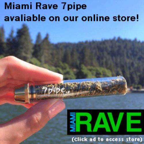 Miami Rave Twisty Glass Blunt Sale!