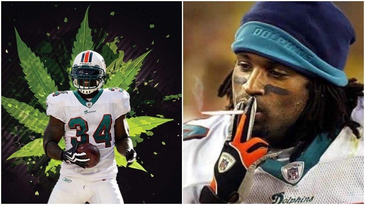"""Miami Dolphin""""s Ricky Williams speaks at first Cannabis Expo"""