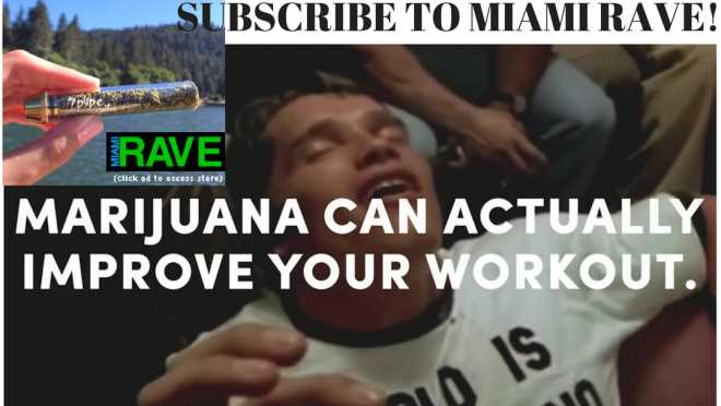 Could Cannabis be the secret to a great workout?