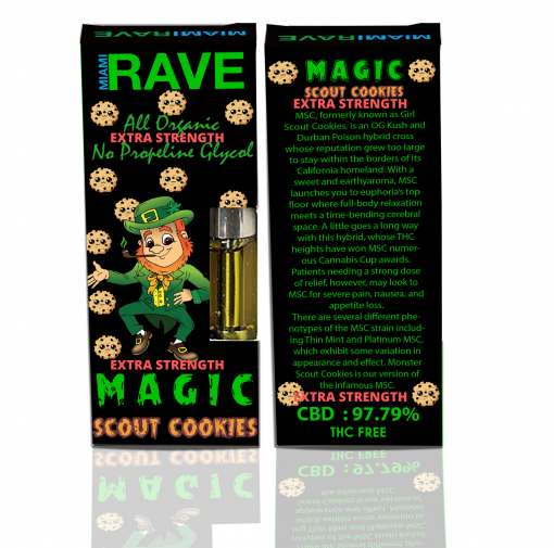 Girl Scout Cookies CBD Vape Cartridge