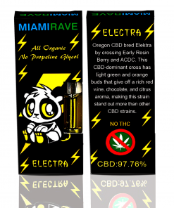 CBD Vaporizer Cartridges For Sale Elektra Strain