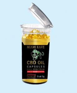2,000 MG CBD Oil Capsules
