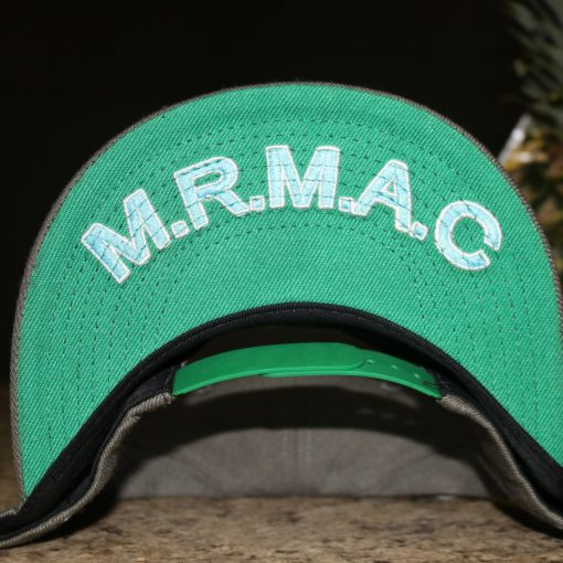 Miami Rave Front Green Hat