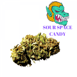 Sour Space Candy CBD Hemp Flower For Sale