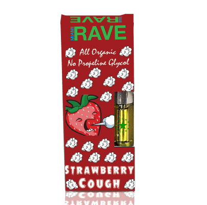 Strawberry Cough THC Vape Oil Cartridge