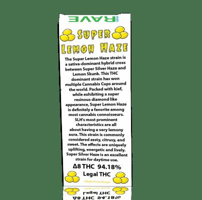 Super Lemon Haze THC Oil