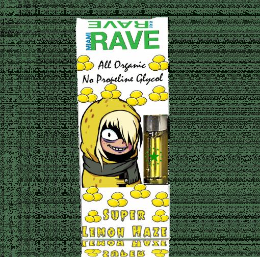 Super Lemon Haze THC Oil Vape Cartridge