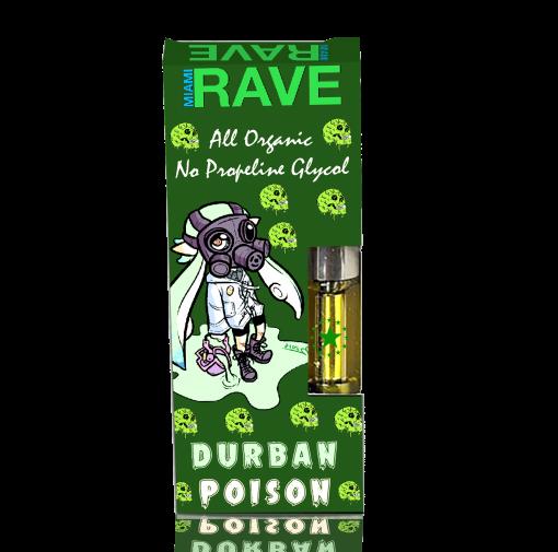 Durban Poison THC Vape Oil Cartridge