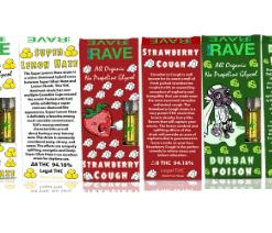 5 Count Sample Pack Of THC Vape Cartridges For Sale