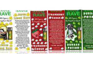 5 Count Sample Pack Of THC Vape Cartridges For Sale