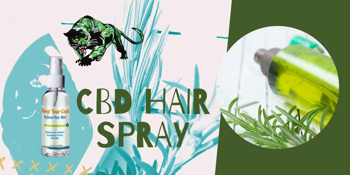 CBD Spray– CBD Infused Product for Hair Care