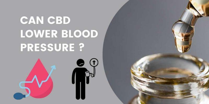 CBD TO LOWER BLOOD PRESSURE