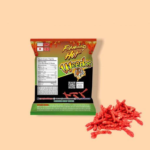 Flaming Hot Weedos: 1,000 MG CBD