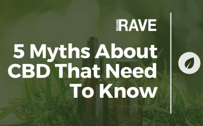5 Myths About CBD That Need To Know