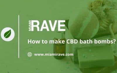 How to make CBD bath bombs?
