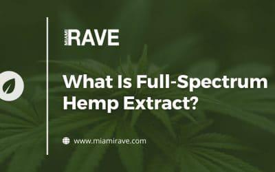 What Is Full-Spectrum Hemp Extract?