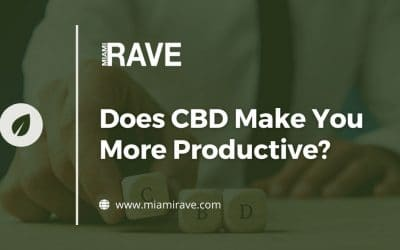 Does CBD Make You More Productive?